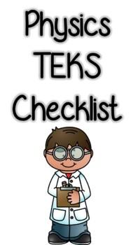 Physics TEKS Checklist