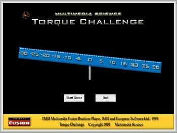 Physics - Torque Challenge Software - PC & MAC Flash Version