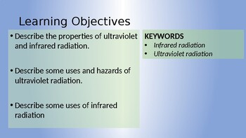 Physics - Ultraviolet and Infrared Radiation
