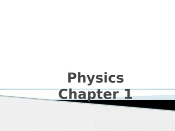 Physics Unit 1