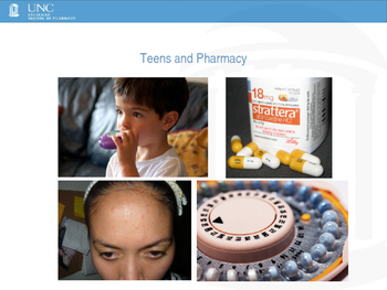 Talking about Pharmacy in High School