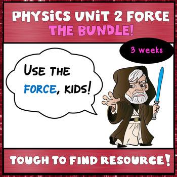 Physics Unit 2:  The Bundle!