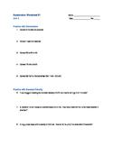 Physics Unit 3 (Acceleration) - Acceleration Worksheet #1