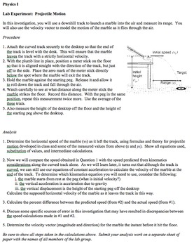 Physics - Unit 3 - Kinematics: Vectors and Two-dimensional Motion  complete unit