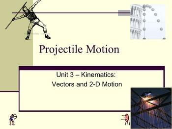 Physics - Unit 3 - Kinematics: Vectors and Two-dimensional