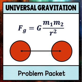 Physics Unit 4 Universal Gravitation Problem Packet