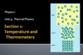 Physics - Unit 9 - Thermal Physics  complete unit