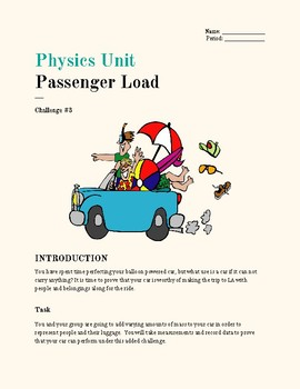 Physics Unit Balloon Car Challenge #3