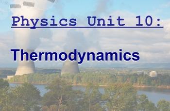 Physics Unit: Thermodynamics