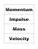 Physics Word Wall Words