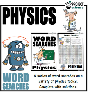 Physics Words Searches