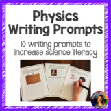 Physics Writing Prompts