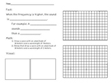 Physics, Music and Math: Graphing Waves Practice for English Language Learners