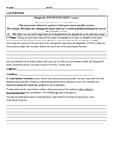 Physics design lab template