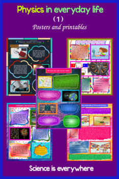 Physics in everyday life ( 1 ) : Science is everywhere, Posters (Printables)