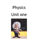 Physics introductory unit on newtons laws