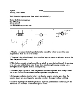 Physics lab - small motor
