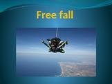 Physics of free fall