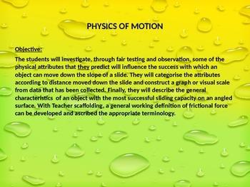Physics on the Playground Slide