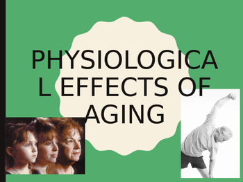 Physiological Effects of Ageing