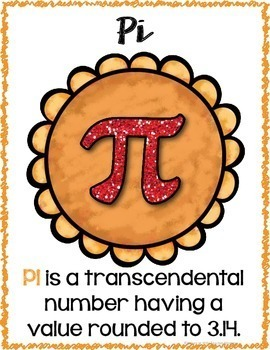 Thanksgiving Area and Circumference Worksheets, Posters, and Activitites