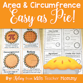 Pi Day Area and Circumference Worksheets, Posters, and Activitites