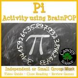 Pi Activity using BrainPOP - Free