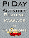 Pi Day Activities Math Science No Prep Holiday Fun