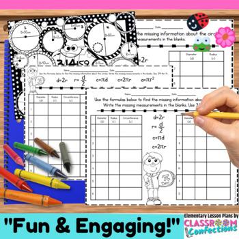 Pi Day Activity: Circles