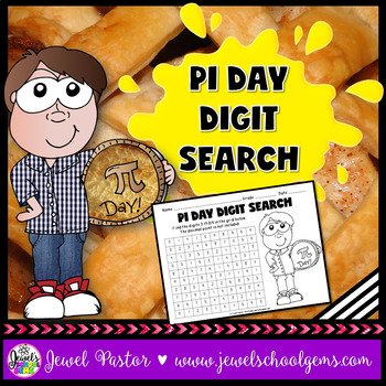 Pi Day Activities (Pi Day Digit Search)