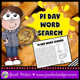 Pi Day Activities (Pi Day Word Search)