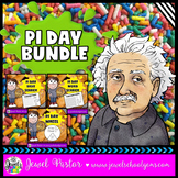 Pi Day Activities Elementary BUNDLE (Pi Day Word Search, Digit Search and Craft)