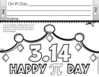 Pi Day Activities Elementary BUNDLE
