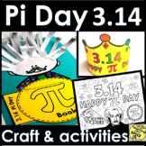 Pi Day Activities Elementary BUNDLE