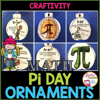 Pi Day 3D Ornaments Craftivity