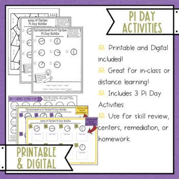 Pi Day Activities By Misty Miller Teachers Pay Teachers