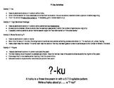 Pi Day Activities -- Set of FOUR activities