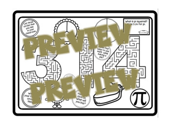 Pi Day Activity Posters