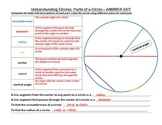 Pi Day Activity: Understanding Circle Relationships--SPECI