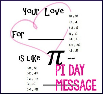 Pi Day Algebra - Solve Linear Systems