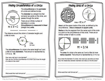 Pi Day: Area & Circumference of a Circle - Crack the Code