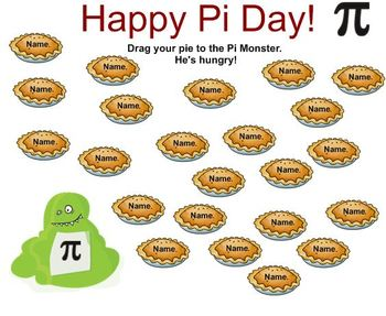 Pi Day Attendance SmartNotebook File