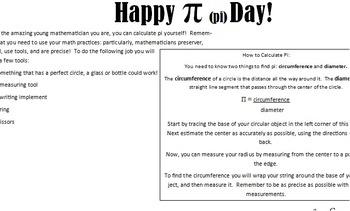 Pi Day!  Calculate Pi