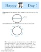 #piday #Piforall Pi Day - Celebrate Pi day with this activity