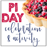 Pi Day Celebration Activity and Classroom Decorations DIST