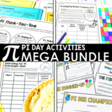 Pi Day Activities Bundle for Middle School Students