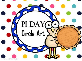 Pi Day Circle Art