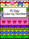 Pi Day Color by Number