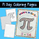 Pi Day Coloring Page