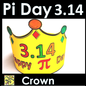 Pi Day Crown